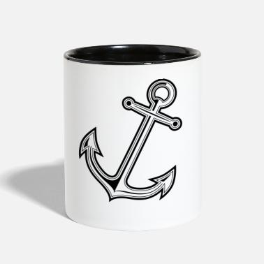 Baltic Sea anchor - Contrast Coffee Mug