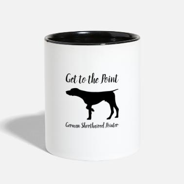 GSP.  Get to the Point. - Two-Tone Mug