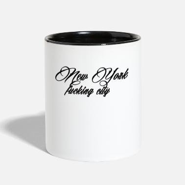 Nyc New York Fucking City - Contrast Coffee Mug