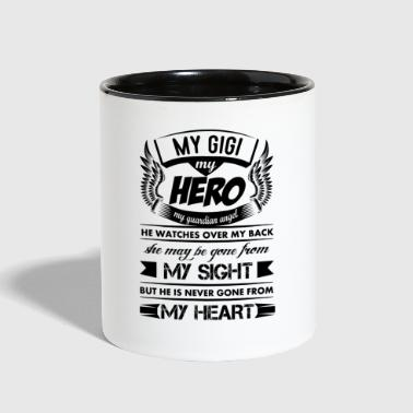 My Hero My Gigi - Contrast Coffee Mug