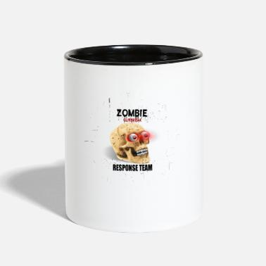 Team Awesome Awesome Zombie Outbreak Response Team - Contrast Coffee Mug