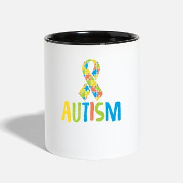 Autism Awareness Cute Autism Awareness for Autism Awareness - Contrast Coffee Mug