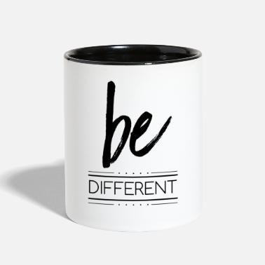 Different be different - Contrast Coffee Mug