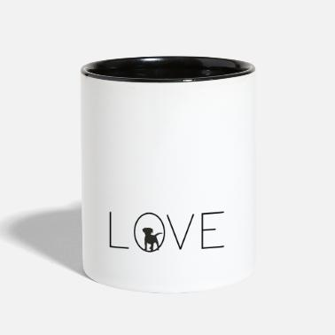 Love Dog Love dogs, I love dogs - Two-Tone Mug