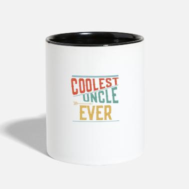 Coolest Uncle Coolest Uncle Ever - Gift ideas - Two-Tone Mug