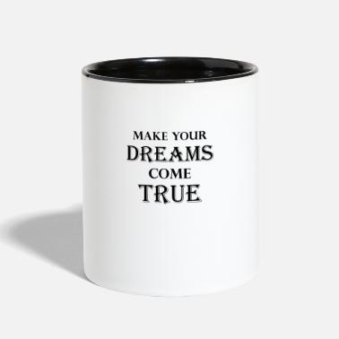 Dream dreaming - Contrast Coffee Mug