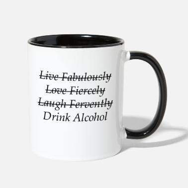 Alcohol Drink Alcohol - Contrast Coffee Mug