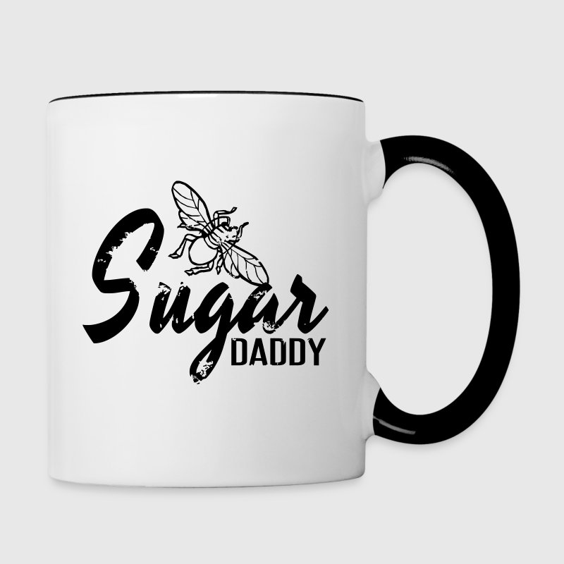 Sugar Daddy - Contrast Coffee Mug