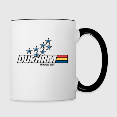 Yo Durham! coffee mug - Contrast Coffee Mug