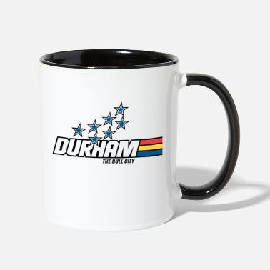 Yo Durham! coffee mug - Two-Tone Mug