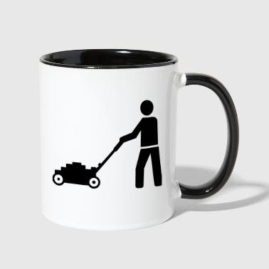 Lawn mower - Contrast Coffee Mug