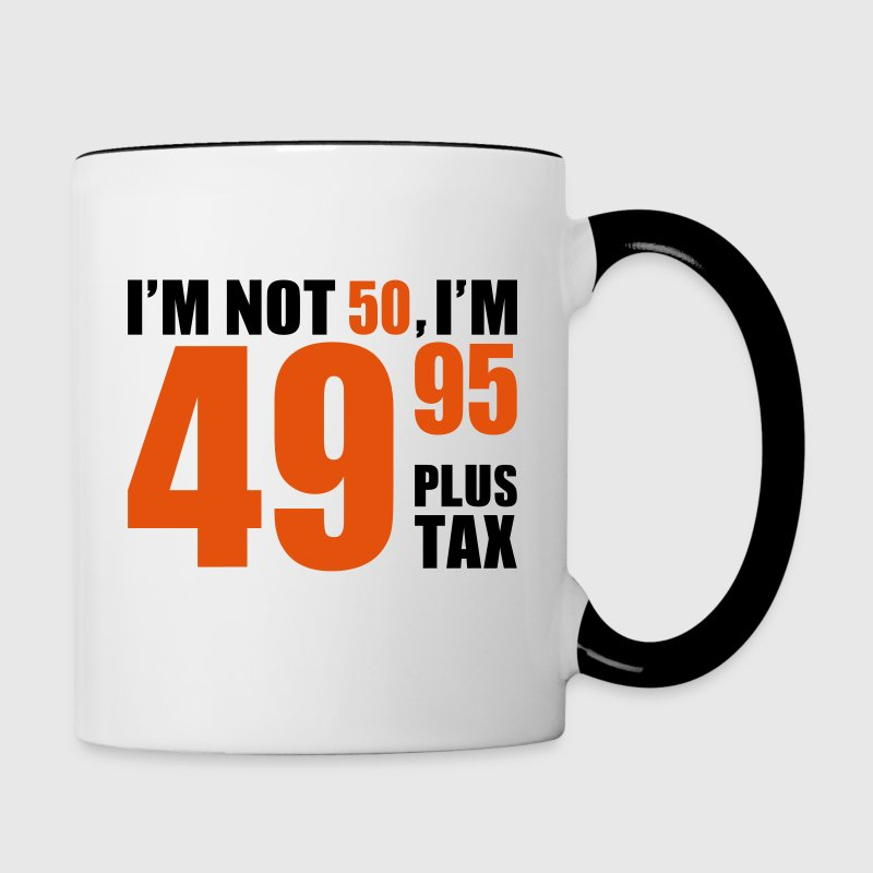 50 Birthday - Contrast Coffee Mug