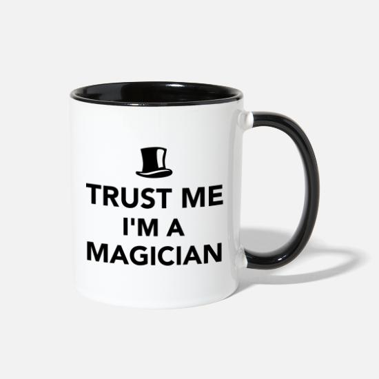 Magician Mugs & Drinkware - Magician - Two-Tone Mug white/black