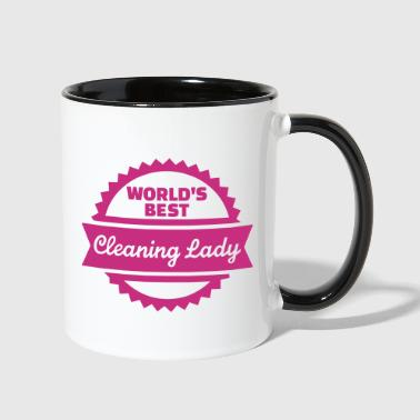 Cleaning lady - Contrast Coffee Mug