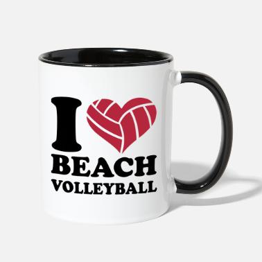 Beach Volleyball Beach volleyball - Two-Tone Mug