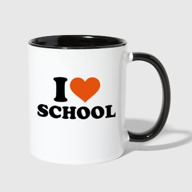 School - Contrast Coffee Mug