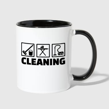 Cleaning - Contrast Coffee Mug