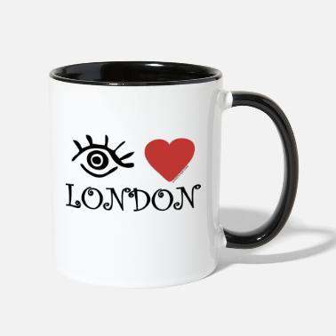 Eye-Love London - Contrast Coffee Mug