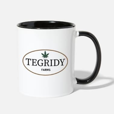 Lampin 22nd Century Movies & TV Tegridy Farms Farming - Two-Tone Mug