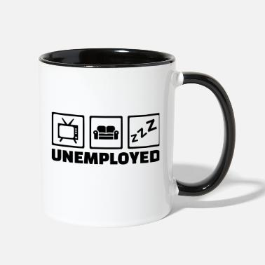 Unemployed Unemployed - Contrast Coffee Mug