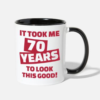 70th Birthday 70 birthday - Contrast Coffee Mug