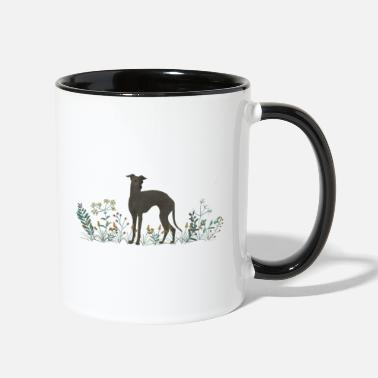 Italian Italian Greyhound - Two-Tone Mug