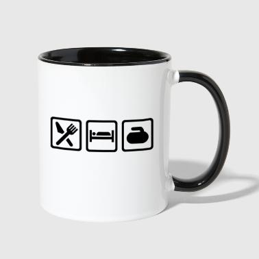 Curling - Contrast Coffee Mug