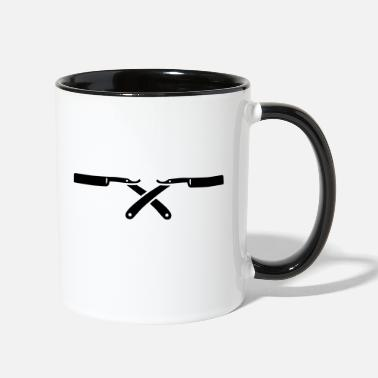 Shaved Shaving - Two-Tone Mug