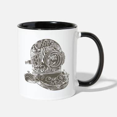 Diving Helmet Diving Helmet - Two-Tone Mug