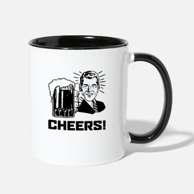 Cheers Cheers! - Contrast Coffee Mug