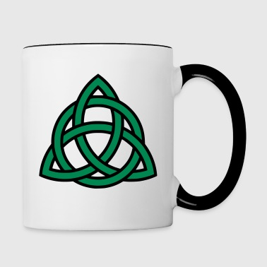 Celtic knot - Contrast Coffee Mug