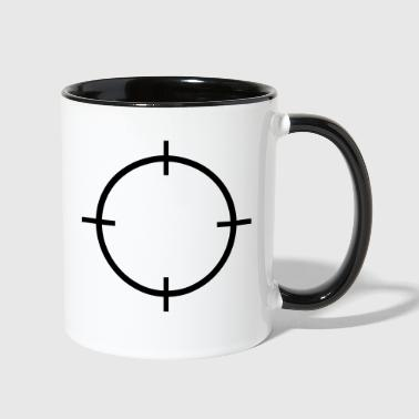 Crosshairs - Contrast Coffee Mug