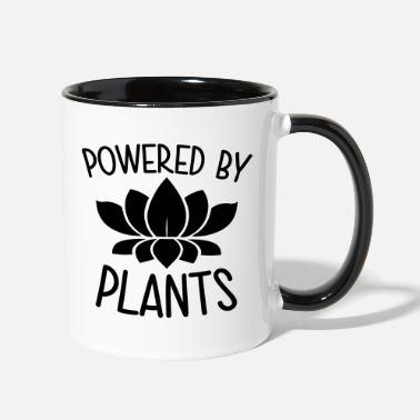Power Powered By Plants - Two-Tone Mug