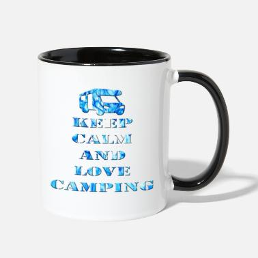 Camp Camping - Contrast Coffee Mug