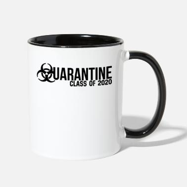 2020 Class of 2020 Quarantine - Two-Tone Mug