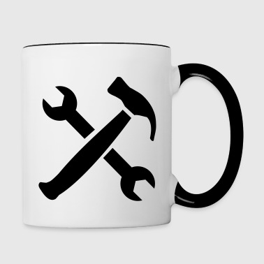 Tools - Contrast Coffee Mug