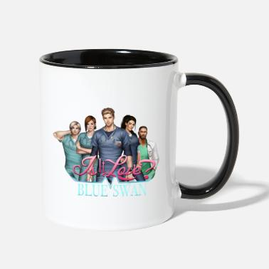 Love Is it Love? Blue Swan Hospital portrait - Two-Tone Mug