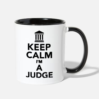 Judge Judge - Contrast Coffee Mug