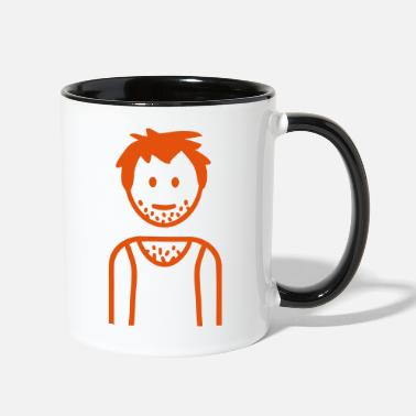 Unemployed Unemployed - Two-Tone Mug