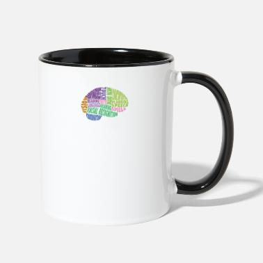 Region Regions of the brain - Two-Tone Mug
