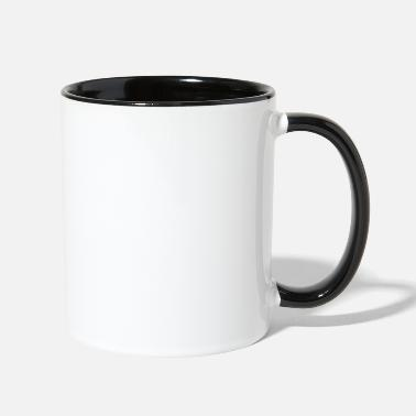 Offensive i love my life as your wife offensive - Two-Tone Mug