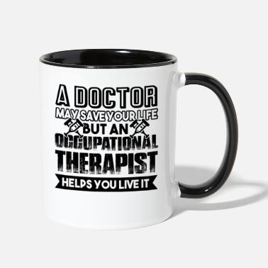 Occupation Occupational Therapist - Contrast Coffee Mug