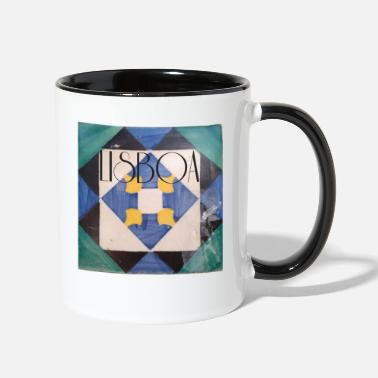 STYLISH LISBON LISBOA PORTUGAL VACATION PRESENT - Contrast Coffee Mug