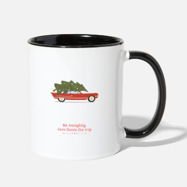Naughty Be Naughty - Two-Tone Mug