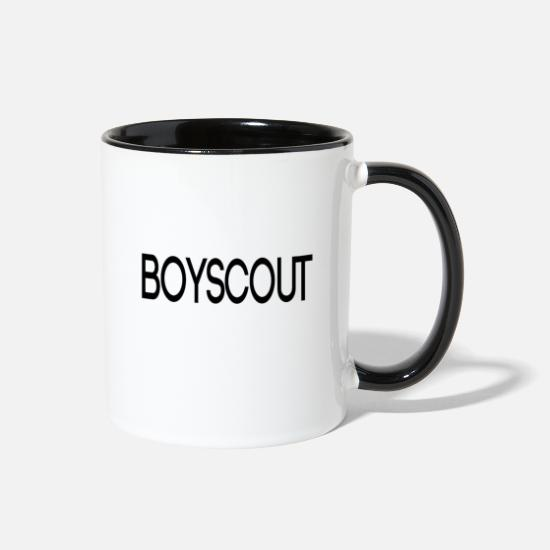 Boy Scouts Mugs & Drinkware - boy scout - pathfinder - Two-Tone Mug white/black