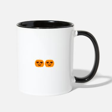 Mummy Mummy Of Twin Pumpkins - Two-Tone Mug