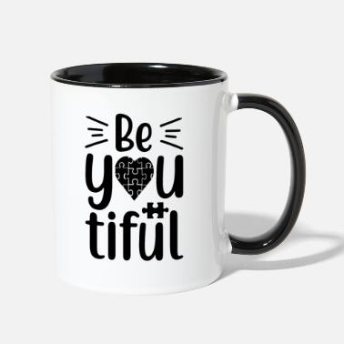 Puzzle Be You - Two-Tone Mug