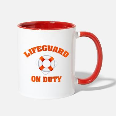 Duty on Duty - Two-Tone Mug