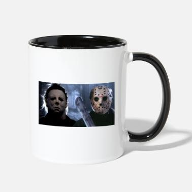 Michael Myers and Jason - Two-Tone Mug