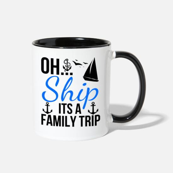 Boat Mugs & Drinkware - Boat - Two-Tone Mug white/black